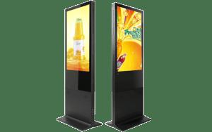 Floor Standing LCD Digital Display signage