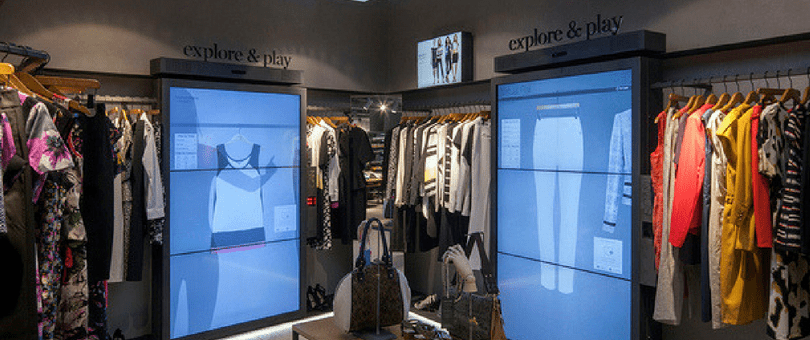 Digital Signage & Interactive Technology for Fashion Stores